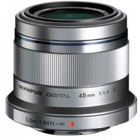 Olympus M.Zuiko ED 45 mm f/1.8 Micro for PEN Silver. Интернет-магазин Vseinet.ru Пенза