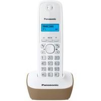 Радиотелефон PANASONIC KX-TG1611RUJ, бежевый и белый. Интернет-магазин Vseinet.ru Пенза