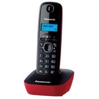 Радиотелефон PANASONIC KX-TG1611RUR, красный и черный. Интернет-магазин Vseinet.ru Пенза