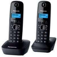 Радиотелефон PANASONIC KX-TG1612RUH, темно-серый. Интернет-магазин Vseinet.ru Пенза