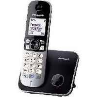 Радиотелефон PANASONIC KX-TG6811RUB, черный. Интернет-магазин Vseinet.ru Пенза