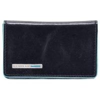Чехол для кредитных/визитных карт Piquadro Blue Square (PP1263B2/BLU2) телячья кожа. Интернет-магазин Vseinet.ru Пенза