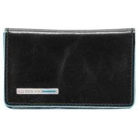 Чехол для кредитных/визитных карт Piquadro Blue Square (PP1263B2/N) телячья кожа. Интернет-магазин Vseinet.ru Пенза