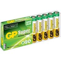 Батарея GP Super Alkaline 24A LR03 AAA (10шт. уп). Интернет-магазин Vseinet.ru Пенза