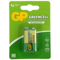 батарейка солевая GP крона 1 шт GP1604G-2CR1 GREENCELL  1242294, GP. Интернет-магазин Vseinet.ru Пенза