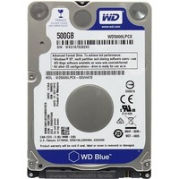 Жесткий диск HDD  Western Digital Blue WD5000LPCX 500 Гб, SATA 6Gb/s, 5400 об/мин, 16 Мб . Интернет-магазин Vseinet.ru Пенза