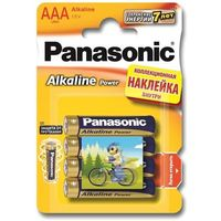 Эл.питания Panasonic Alkaline Power LR03APB/4BPS LR03 + наклейка BL4. Интернет-магазин Vseinet.ru Пенза