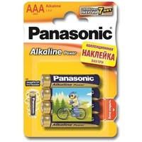 Эл.питания Panasonic Alkaline Power LR06APB/4BPS LR06 + наклейка BL4. Интернет-магазин Vseinet.ru Пенза