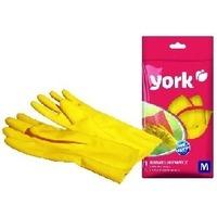 YORK Перчатки резиновые (M) 9202/G0690 (6). Интернет-магазин Vseinet.ru Пенза