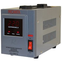 Стабилизатор АСН- 1 500/1-Ц   1250085, Ресанта. Интернет-магазин Vseinet.ru Пенза