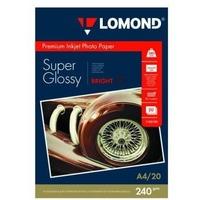 Фотобумага Lomond 1105100 A4/240г/м2/20л./белый высокоглянцевое для струйной печати. Интернет-магазин Vseinet.ru Пенза