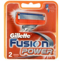 Лезвия Gillette Fusion Power 2 картриджа   1244932, Gillette. Интернет-магазин Vseinet.ru Пенза