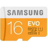 Карта памяти micro SDHC Samsung EVO 16 Гб, Class 10 UHS-I U1 , адаптер SD (MB-MP16DA/RU). Интернет-магазин Vseinet.ru Пенза