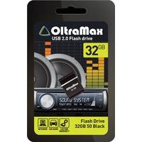 Флешка OltraMax 50 32Гб,  USB 2.0, черная (OM032GB-mini-50-B). Интернет-магазин Vseinet.ru Пенза