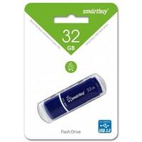 Флешка SmartBuy Crown 32 Гб,  USB 2.0, синяя (SB32GBCRW-Bl). Интернет-магазин Vseinet.ru Пенза