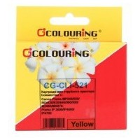 Colouring CG-CLI-521Y Yellow для Canon IP3600/IP4600/MP540/MP550/MP620/MP630/MP980. Интернет-магазин Vseinet.ru Пенза