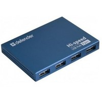Концентратор USB Defender Septima Slim USB 7-ports 83505. Интернет-магазин Vseinet.ru Пенза