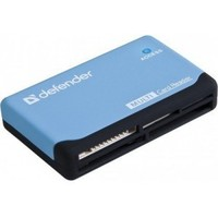 Defender Ultra USB 2.0 Black-Blue 83500. Интернет-магазин Vseinet.ru Пенза