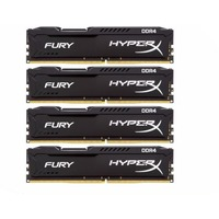 Kingston HyperX Fury PC4-21300 DIMM DDR4 2666MHz CL15 - 16Gb KIT (4x4Gb) HX426C15FBK4/16. Интернет-магазин Vseinet.ru Пенза