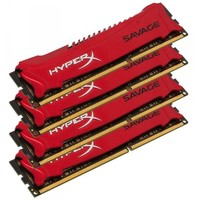 Kingston HyperX Savage PC3-19200 DIMM DDR3 2400MHz CL11 - 32Gb KIT (4x8Gb) HX324C11SRK4/32. Интернет-магазин Vseinet.ru Пенза