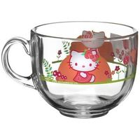 Кружка -джамбо 400 мл HELLO KITTY NORDIC FLOWER H5527   1265182, Luminarc. Интернет-магазин Vseinet.ru Пенза