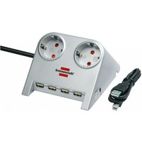 Brennenstuhl Desktop-Power 2 Sockets 1.8m 1153540122. Интернет-магазин Vseinet.ru Пенза