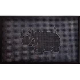 "Фото Коврик резиновый ""Носорог"" (400х600 мм) черный тип. КА 201-1 РТИ. Интернет-магазин Vseinet.ru Пенза"