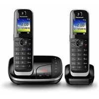 Р/Телефон Dect Panasonic KX-TGJ322RUB черный автооветчик. Интернет-магазин Vseinet.ru Пенза