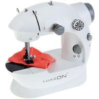 Швейная машинка LuazON LSH-02, (4*АА не в компл.), 220V, педаль, 4 шпульки, белая 1154232, Luazon. Интернет-магазин Vseinet.ru Пенза