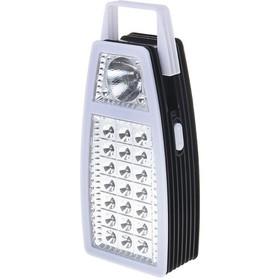 Фото фонарик лампа 21+1 диод, 220V с черным торцом по кругу 1206501. Интернет-магазин Vseinet.ru Пенза