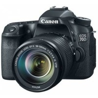 "Зеркальный Фотоаппарат Canon EOS 70D KIT черный 20.2Mpix EF-S 18-135mm f/3.5-5.6 IS STM 3"" 1080p Full HD SDXC Li-ion (с объективом). Интернет-магазин Vseinet.ru Пенза"