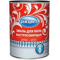 """Эмаль """"Расцвет"""" для пола быстросохнущая серая 0,9 кг.. Интернет-магазин Vseinet.ru Пенза"""