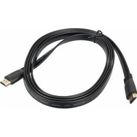 Кабель видео Hi- Sp v.1.4 (19M-19M) FLAT HDMI (m)/HDMI (m)2м. Позолоченные контакты черный. Интернет-магазин Vseinet.ru Пенза