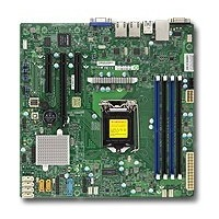 Материнская Плата SuperMicro MBD-X11SSL-F-O Soc-1151 iC232 mATX 4xDDR4 6xSATA3 SATA RAID i210AT 2хGgbEth Ret. Интернет-магазин Vseinet.ru Пенза