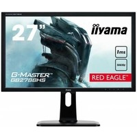 "Монитор Iiyama 27"" GB2788HS-B1 черный TN+film LED 1ms 16:9 DVI HDMI M/M матовая HAS Pivot 300cd 170гр/160гр 1920x1080 DisplayPort FHD Touch 6.9кг. Интернет-магазин Vseinet.ru Пенза"