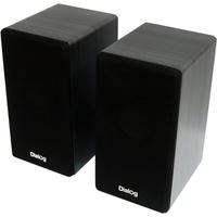 Колонки Dialog Stride AST-20UP BLACK - акустические колонки 2.0, 6W RMS, черные, питание от USB. Интернет-магазин Vseinet.ru Пенза