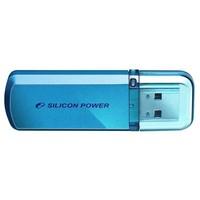 Флешка Silicon Power Helios 101 16Гб,  USB 2.0, голубая (SP016GBUF2101V1B). Интернет-магазин Vseinet.ru Пенза