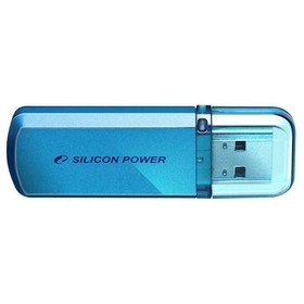 Флешка Silicon Power Helios 101 16Гб,  USB 2.0, голубая (SP016GBUF2101V1B)