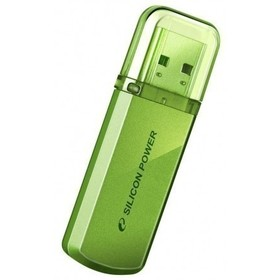 Флешка Silicon Power Helios  101  32Гб,  USB 2.0, зеленый (SP032GBUF2101V1N )