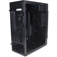 Корпус Zalman ZM-T2 Plus Mini Tower, USB3.0, 92mm rear fan, 120mm front/side fan (optional), 2x HDD, 3x SSD, 300mm video card, black color, без БП. Интернет-магазин Vseinet.ru Пенза