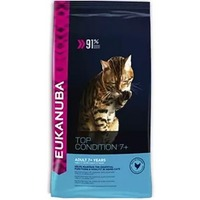 Eukanuba Для пожилых кошек от 7 лет c курицей (Adult Top Condition 7+) 10144098. Интернет-магазин Vseinet.ru Пенза