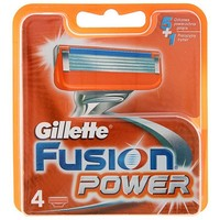 Лезвия Gillette Fusion Power 4 картриджа   1244933, Gillette. Интернет-магазин Vseinet.ru Пенза