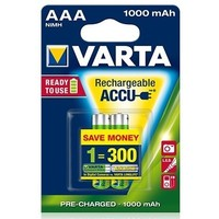 аккумулятор Varta Ready2Use R03 / 1000mAh / BL2 5703.301.412. Интернет-магазин Vseinet.ru Пенза