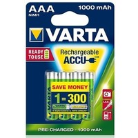 аккумулятор Varta Ready2Use R03 / 1000mAh / BL4 5703.301.414. Интернет-магазин Vseinet.ru Пенза