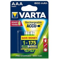 аккумулятор Varta Ready2Use R03 / 800mAh / BL2 56703.101.412. Интернет-магазин Vseinet.ru Пенза