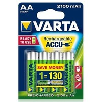 аккумулятор Varta Ready2Use R6 / 2100mAh / BL4 56706.101.414. Интернет-магазин Vseinet.ru Пенза