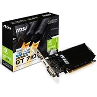 Видеокарта MSI GeForce GT 710, 1024 Мб, PCI-E 2.0, Ret (1GD3H LP). Интернет-магазин Vseinet.ru Пенза