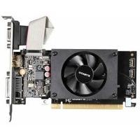 Видеокарта Gigabyte PCI-E GV-N710D3-2GL nVidia GeForce GT 710 2048Mb 64bit DDR3 954/1800 DVIx1/HDMIx1/CRTx1/HDCP Ret. Интернет-магазин Vseinet.ru Пенза