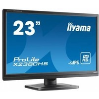 "Монитор Iiyama 23"" X2380HS-B1 черный IPS LED 5ms 16:9 DVI HDMI M/M матовая HAS Pivot 250cd 178гр/178гр 1080x1920 D-Sub FHD 5.4кг. Интернет-магазин Vseinet.ru Пенза"