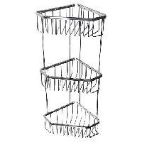 САНАКС 75044 Полочка угловая пятиугольная тройная 18 см. Интернет-магазин Vseinet.ru Пенза